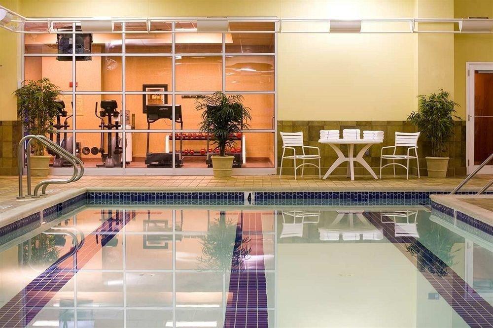 Classic Pool Lobby building property condominium retail shopping mall