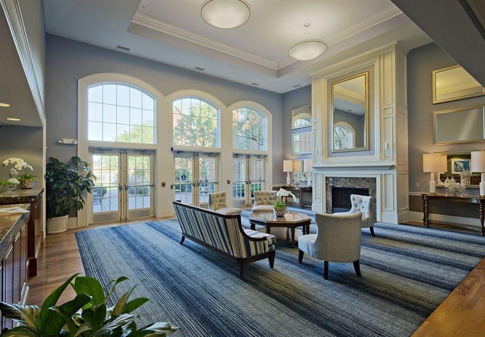 Classic Lobby property living room home mansion condominium hardwood Villa