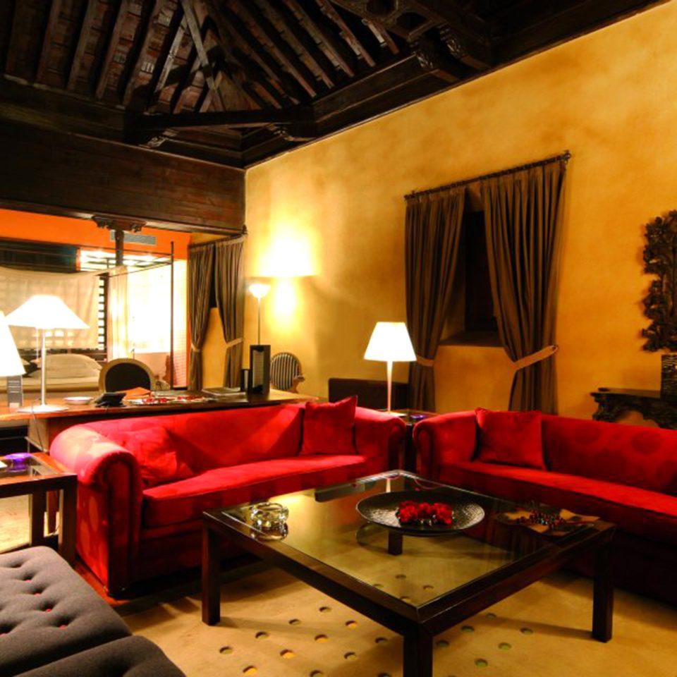 Classic Lounge Luxury Rustic living room restaurant