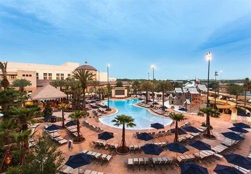 Classic Pool Resort sky leisure property Town marina swimming pool Water park plaza dock amusement park Village condominium park panorama day shore