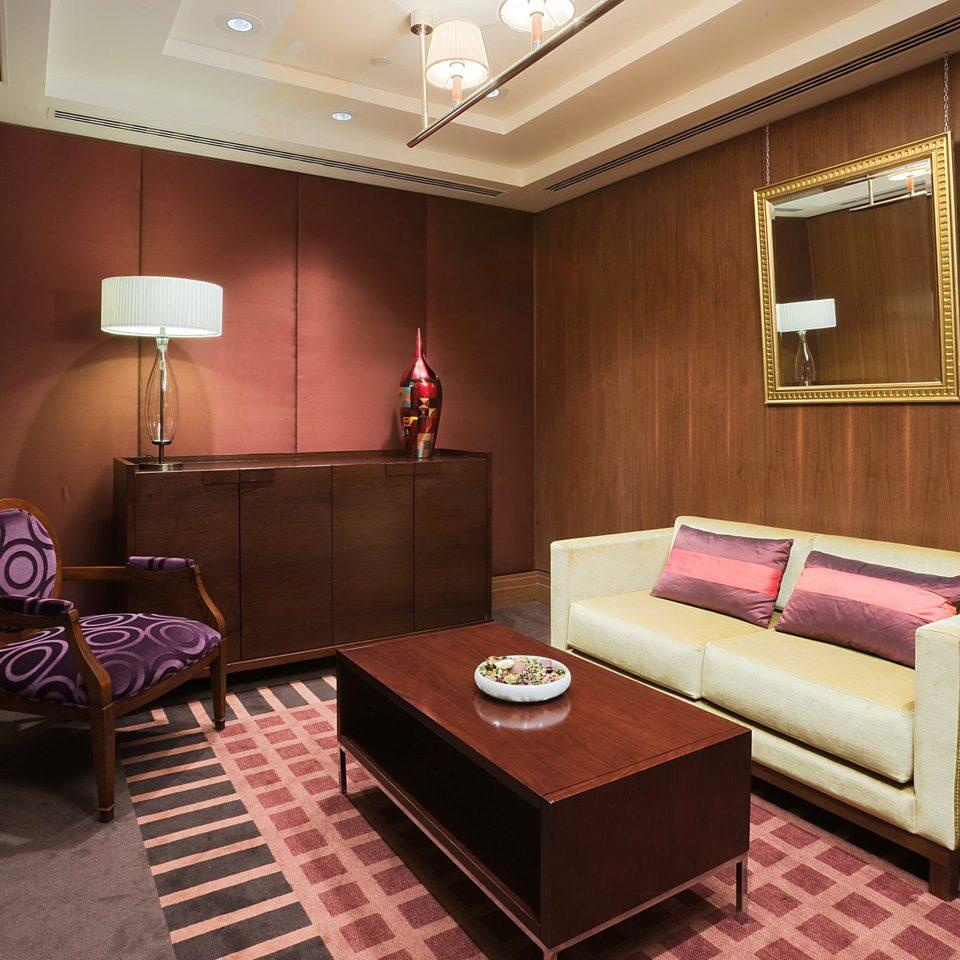 Classic Resort property Suite living room pink recreation room cottage