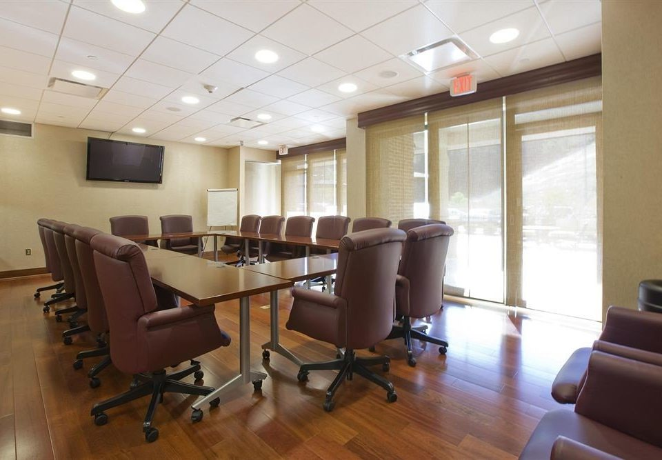 property conference hall waiting room office classroom condominium hard leather