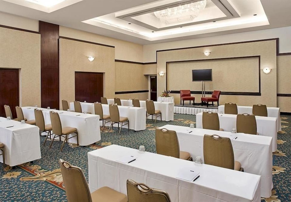conference hall function hall restaurant convention center meeting classroom