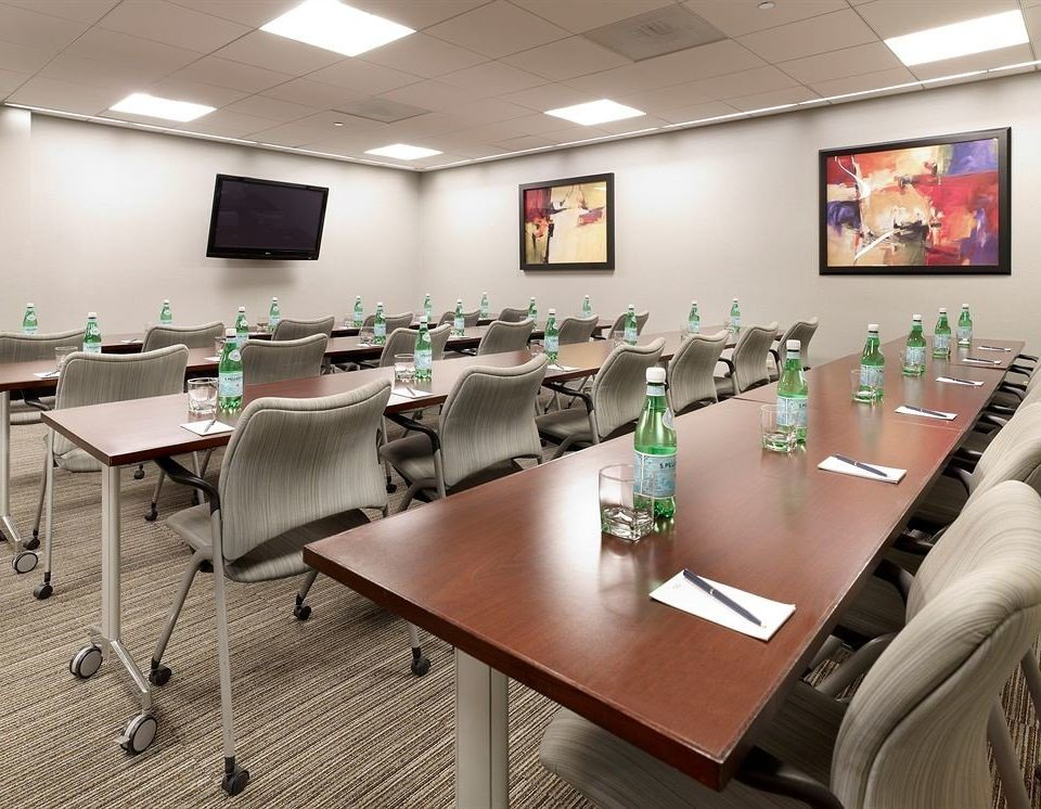 conference hall classroom waiting room meeting dining table