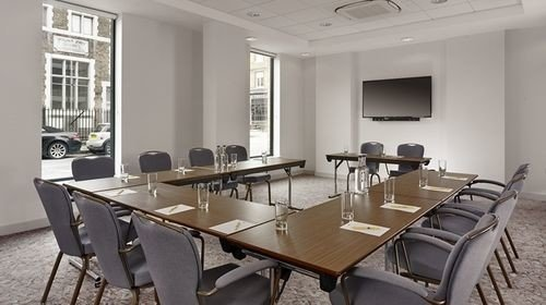 property conference hall classroom dining table