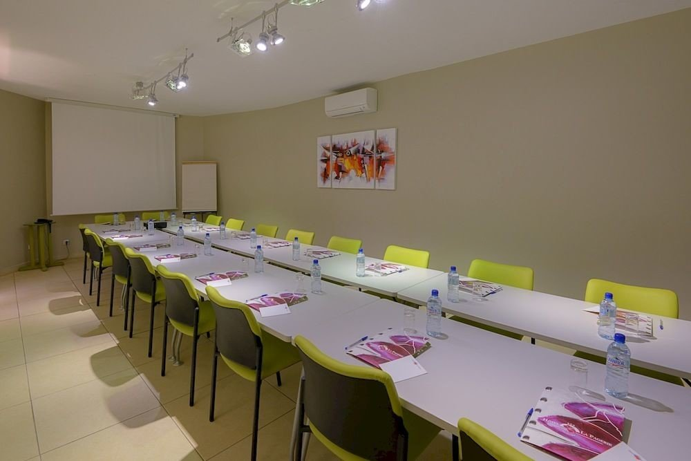 classroom conference hall function hall restaurant