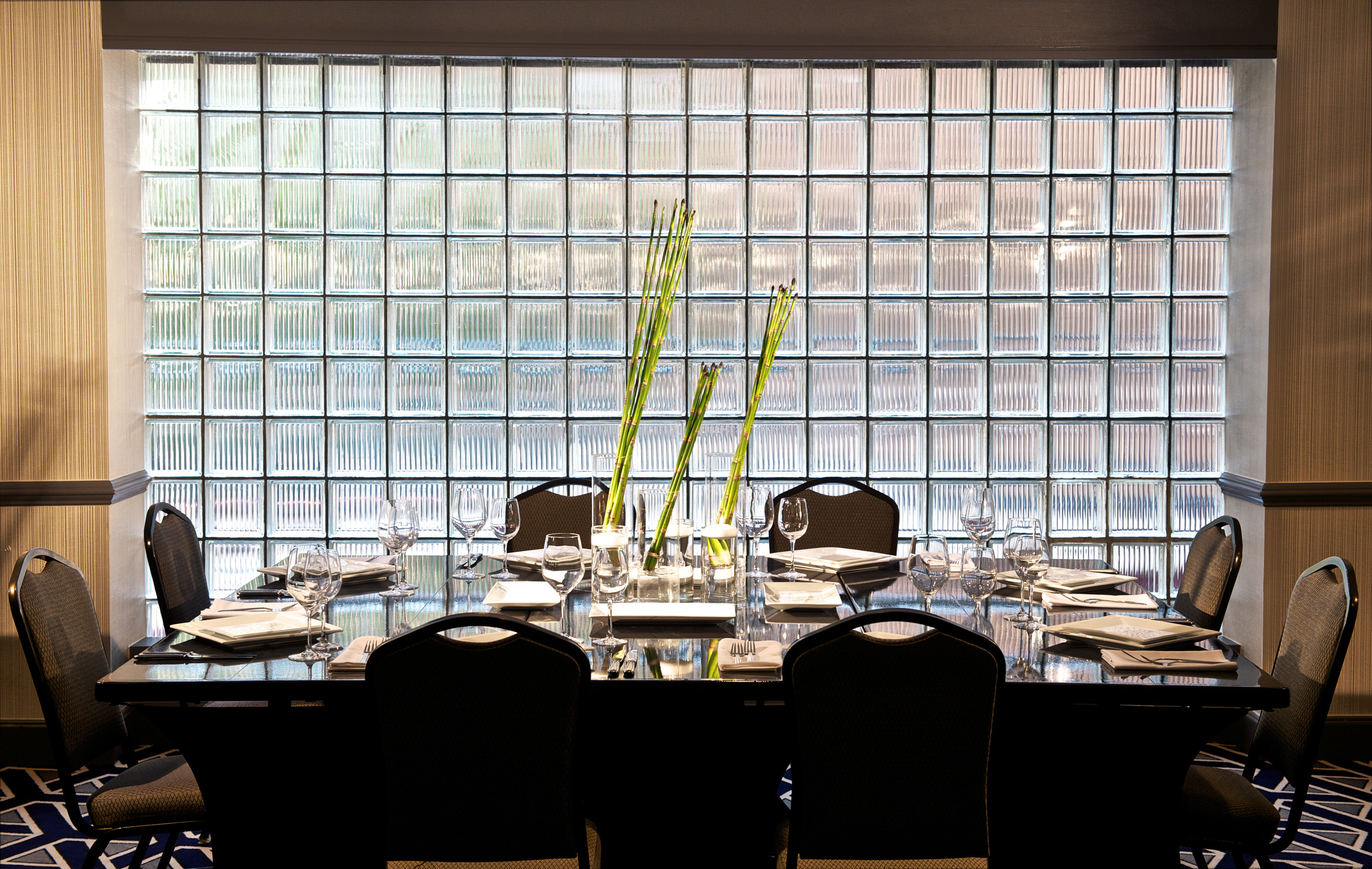 office restaurant conference hall classroom window treatment