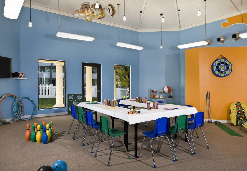 classroom recreation room
