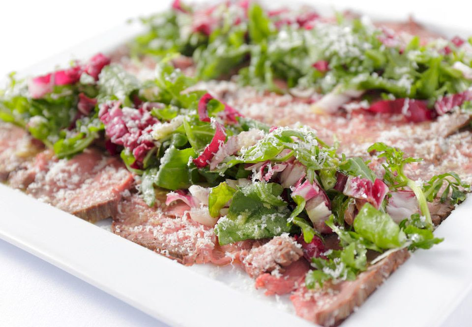 food plate salad meat tuna salad cuisine steak salt cured meat vegetable steak tartare square close toppings containing