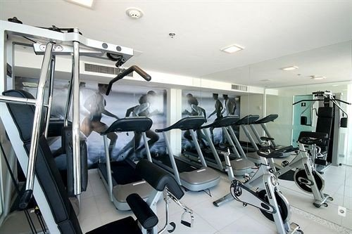 structure gym property sport venue office condominium equipment cluttered