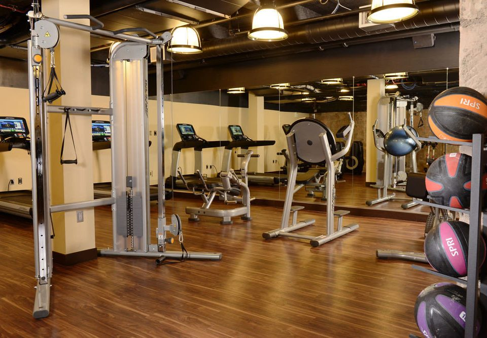 structure gym sport venue muscle physical fitness weight training hard cluttered