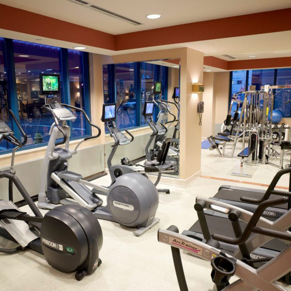 structure gym sport venue leisure office cluttered