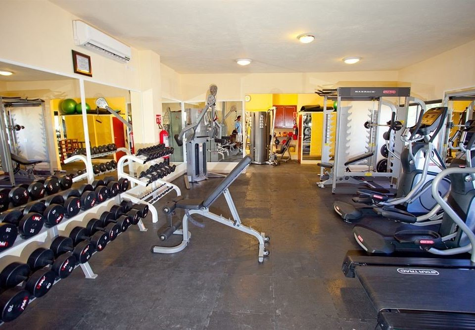 structure gym sport venue leisure cluttered