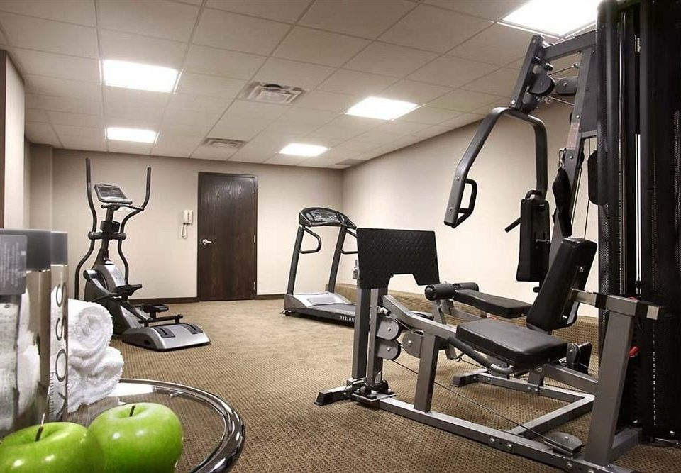 structure gym sport venue muscle office cluttered