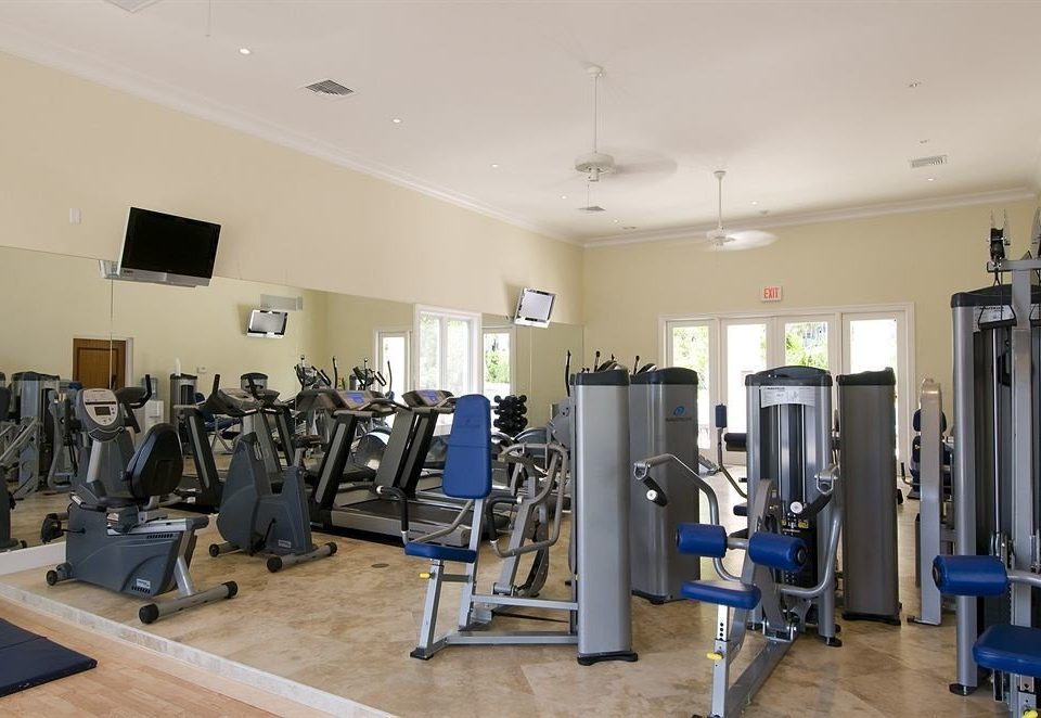 structure gym property sport venue muscle office cluttered