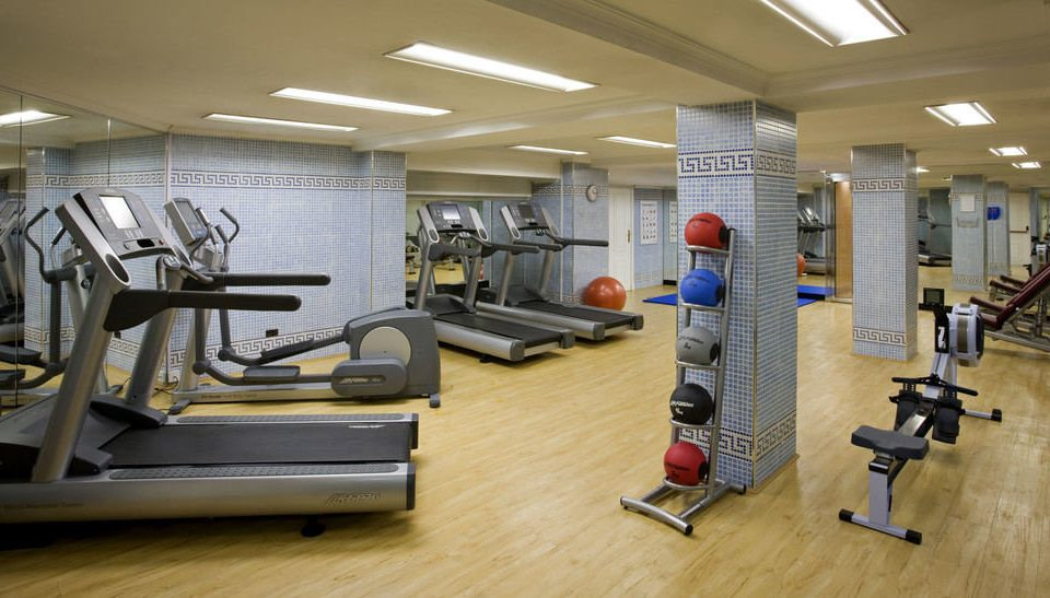 structure gym sport venue physical fitness office cluttered