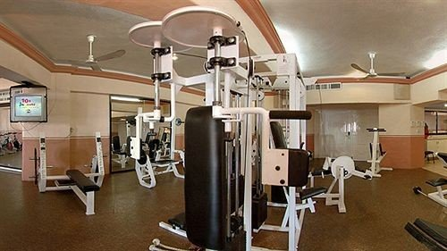 structure gym property sport venue office cluttered
