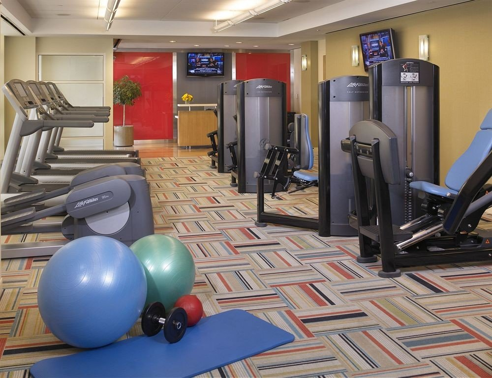 structure gym sport venue cluttered