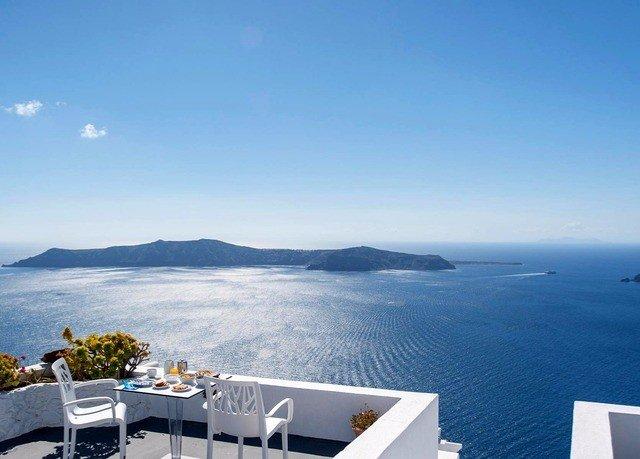 sky water horizon Ocean Sea Coast Resort overlooking Deck shore