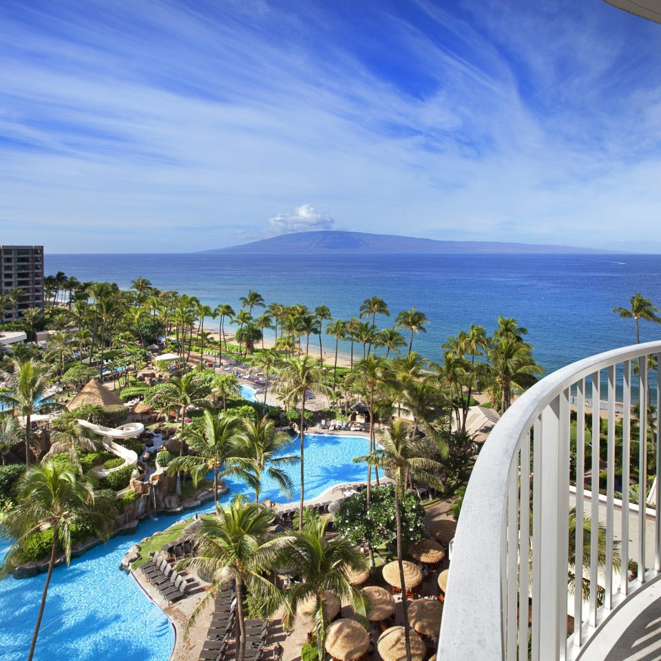 sky building Resort Coast Ocean Sea caribbean condominium Deck overlooking