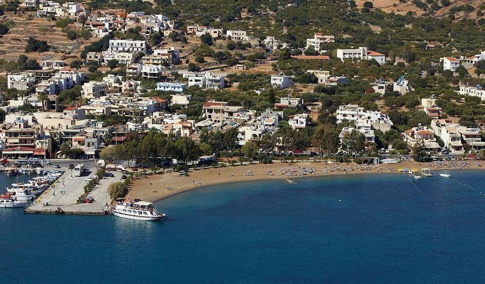 water mountain aerial photography Town Sea Coast marina Harbor Nature cape bird's eye view dock cityscape shore