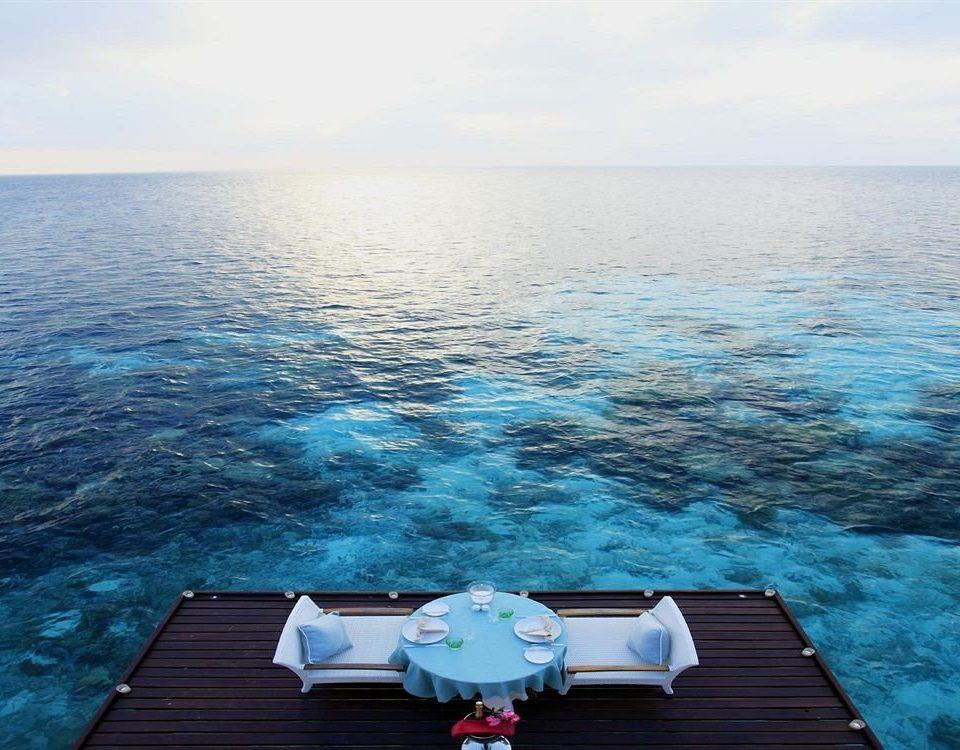 water sky Sea Ocean horizon Coast vehicle cape Lake caribbean Lagoon Island overlooking