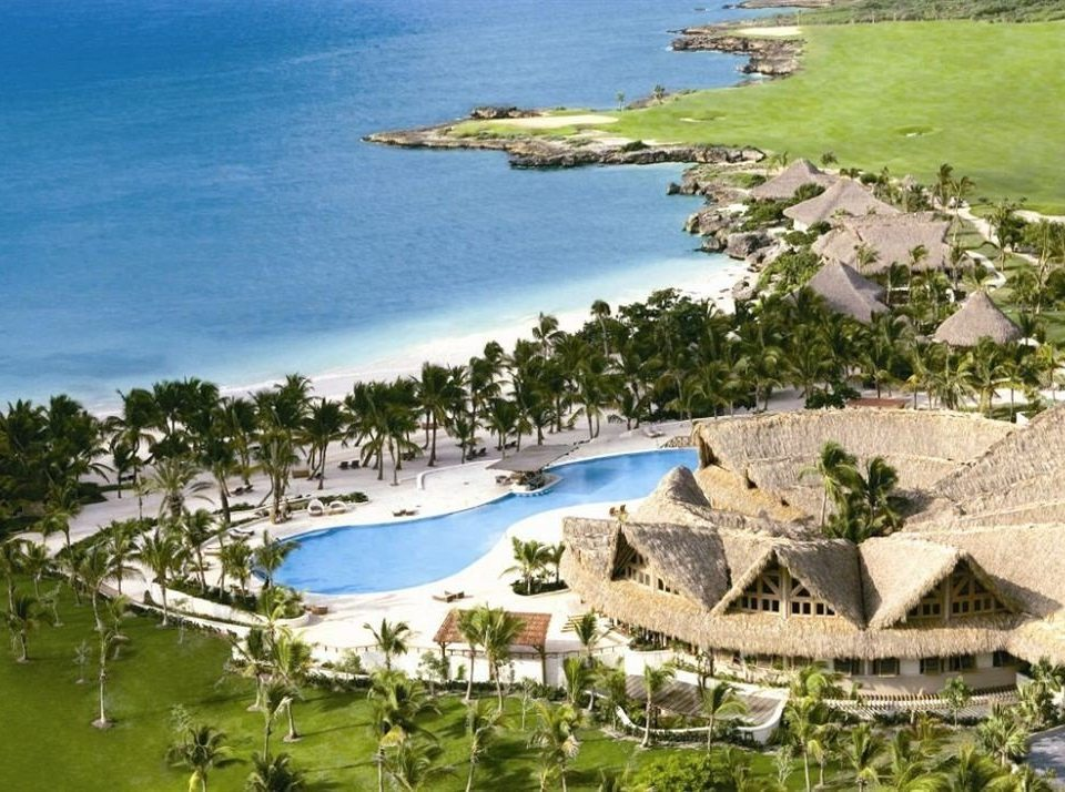 water grass Nature ecosystem Resort Coast marina aerial photography dock cove Sea Lagoon shore Island