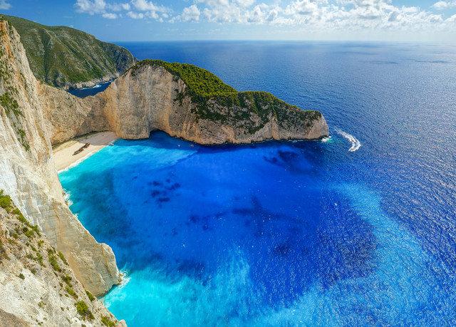 mountain Nature water rock Coast Sea Ocean rocky cliff islet cape terrain Island archipelago Lagoon cove surrounded