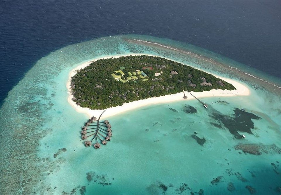 reef marine biology Ocean Sea Nature biology atmosphere of earth atoll aerial photography Island wave Coast underwater
