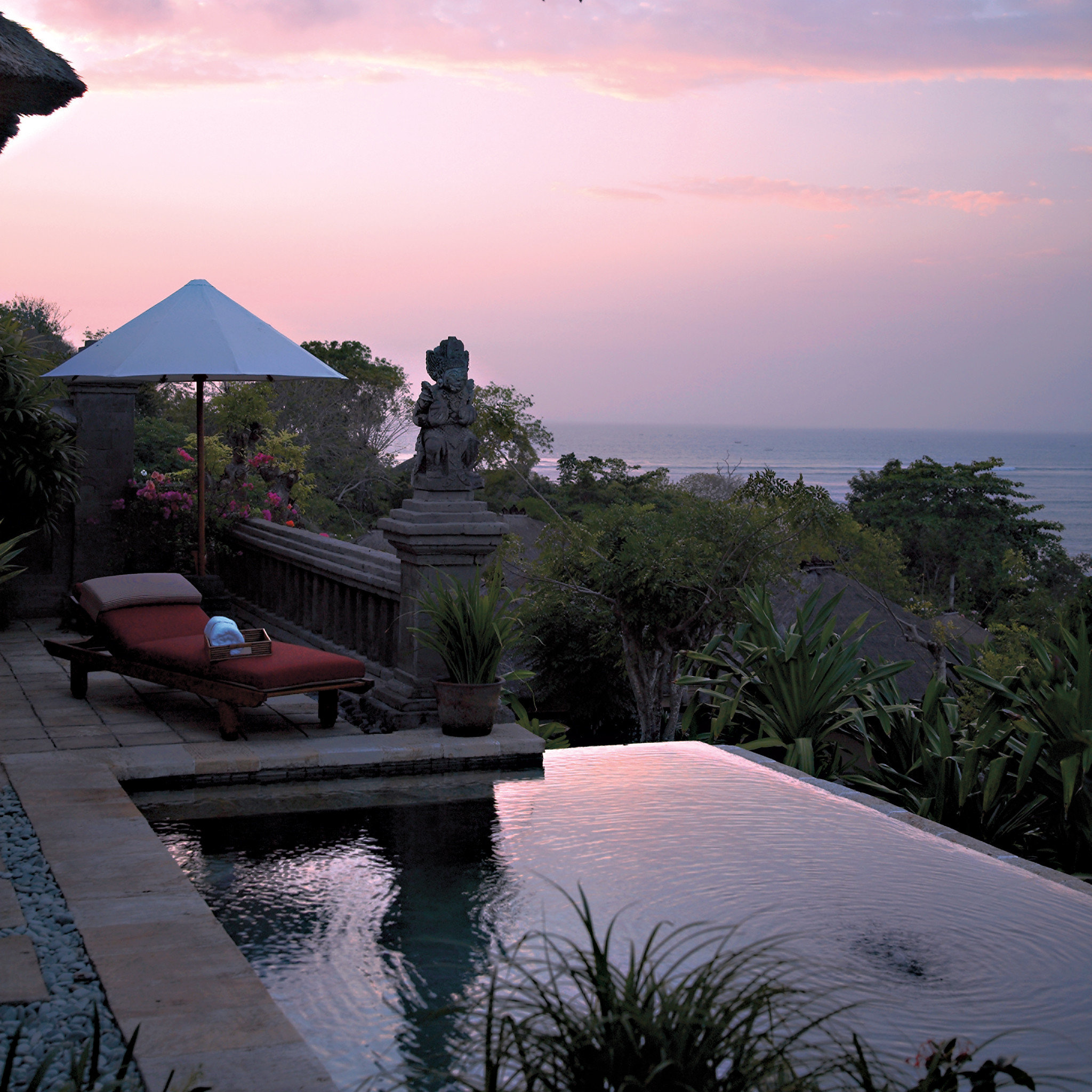 Lounge Luxury Modern Ocean Pool sky tree water Sunset Nature Sea morning evening dusk landscape Coast dawn sunrise flower shore day