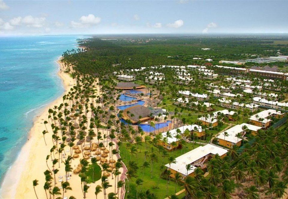sky Nature bird's eye view aerial photography ecosystem Coast residential area Resort marina cape shore