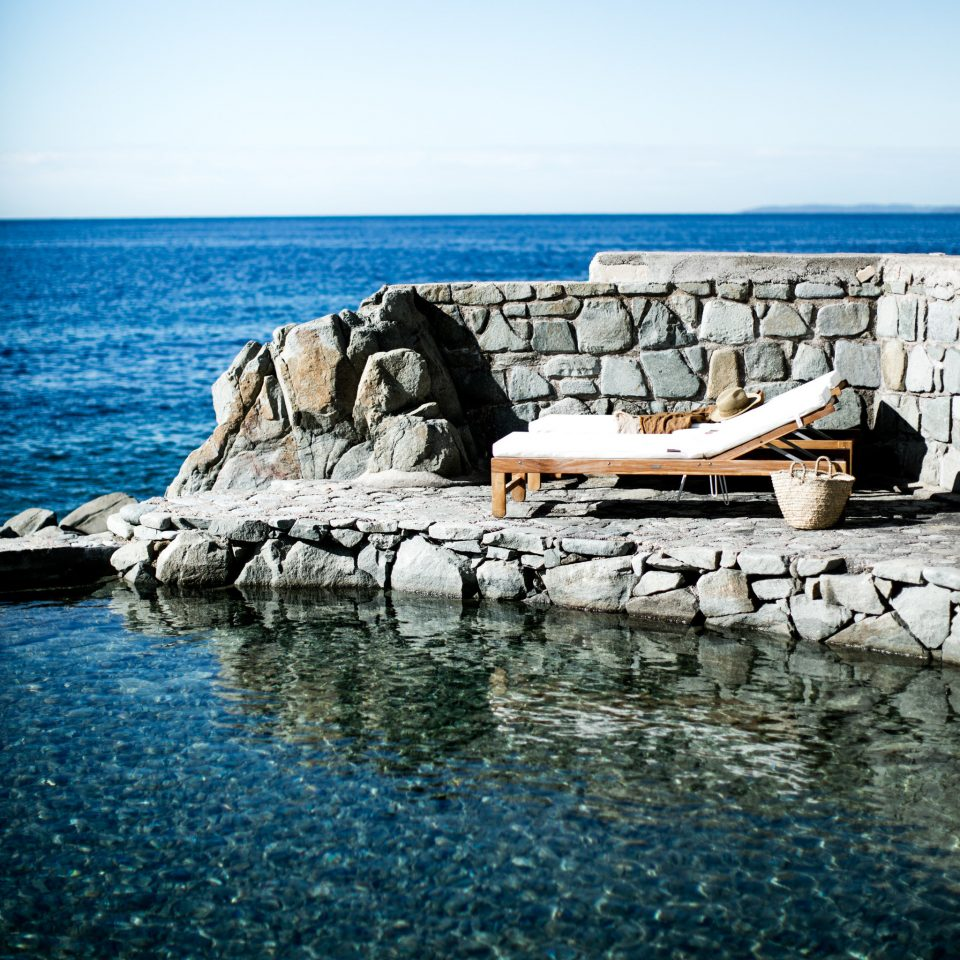 water sky Sea Ocean horizon shore Coast coastal and oceanic landforms rock calm wave