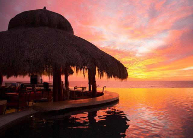 water sky Sunset sunrise evening dawn Sun dusk morning Sea Ocean Coast clouds day