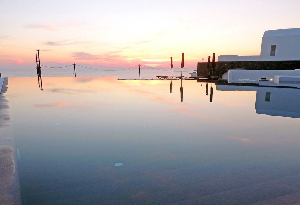 sky horizon Sea sunrise dawn morning atmosphere of earth shore scene Ocean Sunset Coast dusk evening vehicle dock