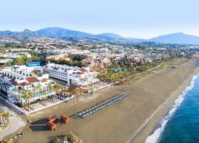 mountain sky Town Coast aerial photography bird's eye view Sea panorama way road highway