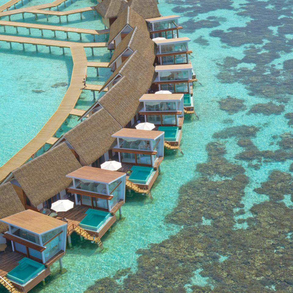 Trip Ideas chair Sea dock channel marina aerial photography Coast vehicle farm machine