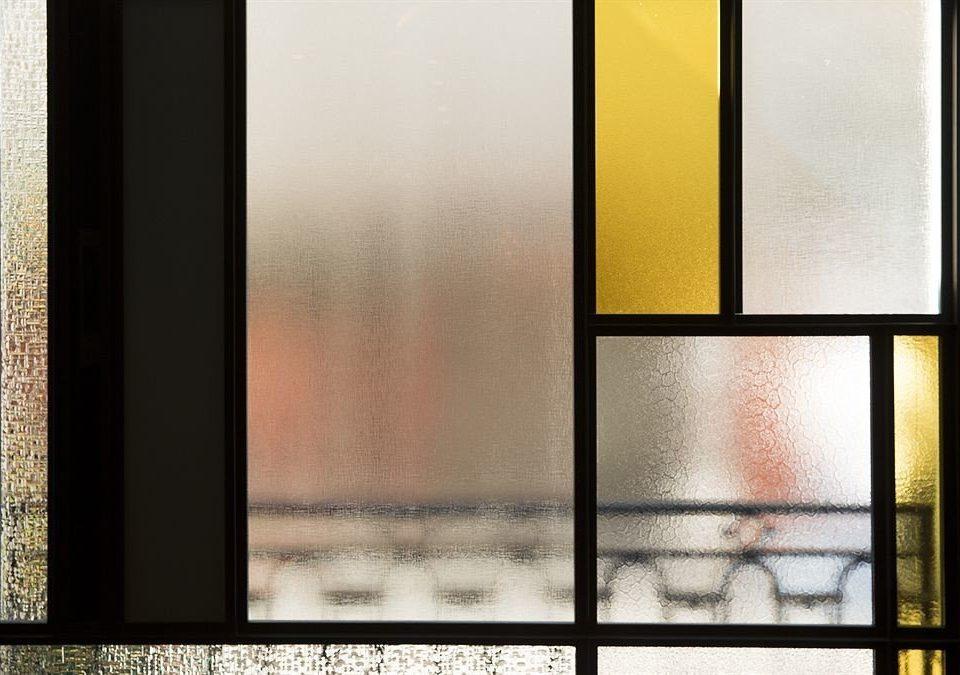 color modern art light glass picture frame shape door eye material