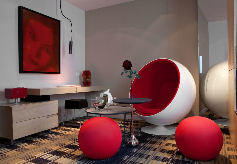 red color living room home flooring