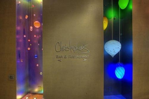 color light glass lighting shape signage modern art night