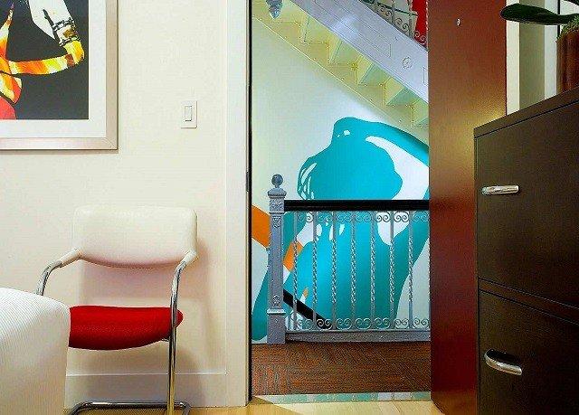 color home modern art mural living room