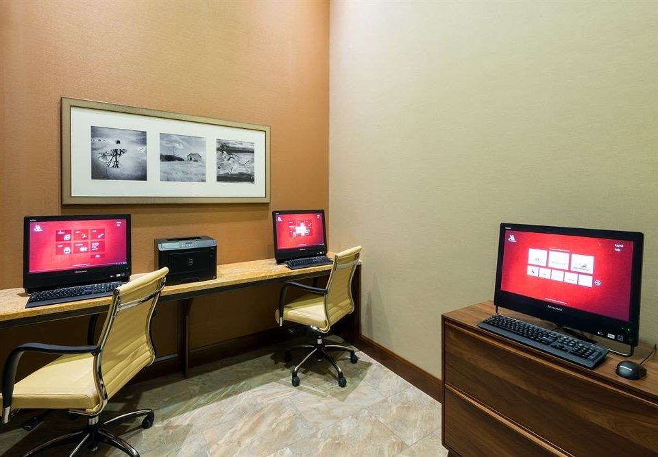 computer property desk laptop office living room conference hall flat