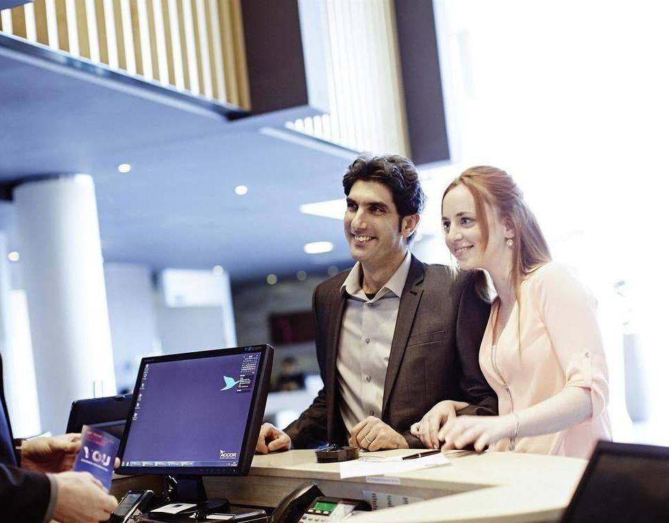 laptop electronics computer conversation desk