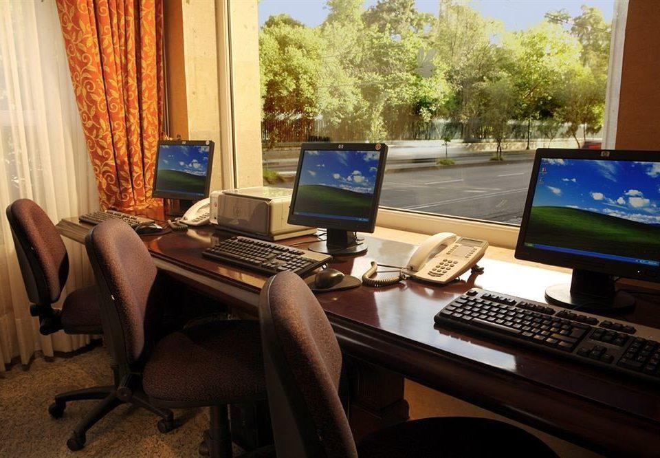 laptop computer desk home electronics living room desktop display