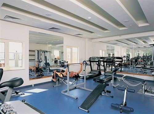 structure sport venue gym leisure centre condominium conference hall worktable conference room