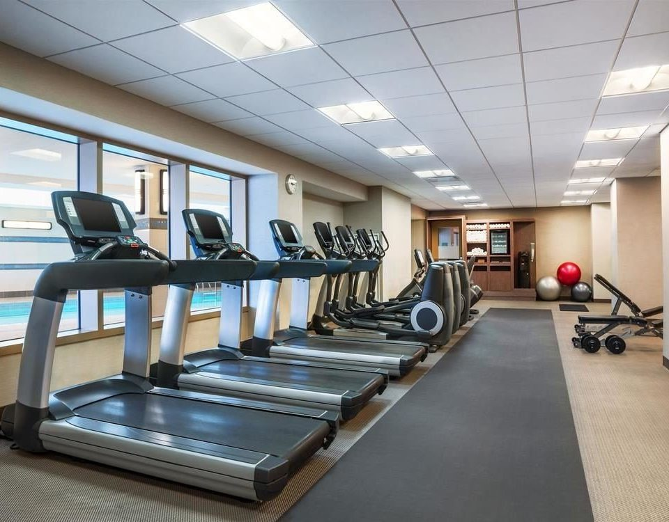 structure gym sport venue condominium recreation room conference hall