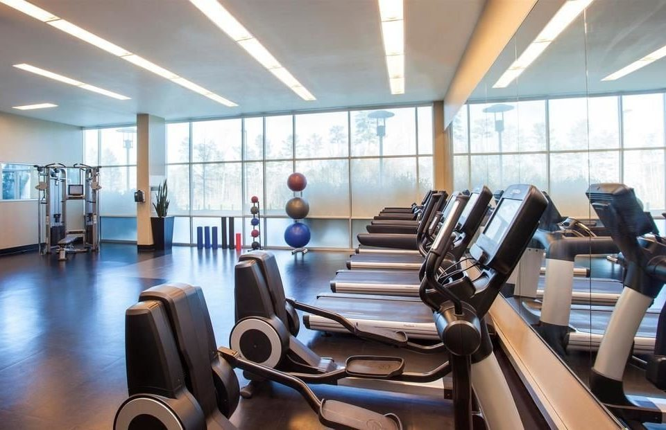 structure gym sport venue condominium physical fitness conference room