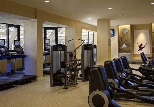 structure gym sport venue condominium conference room
