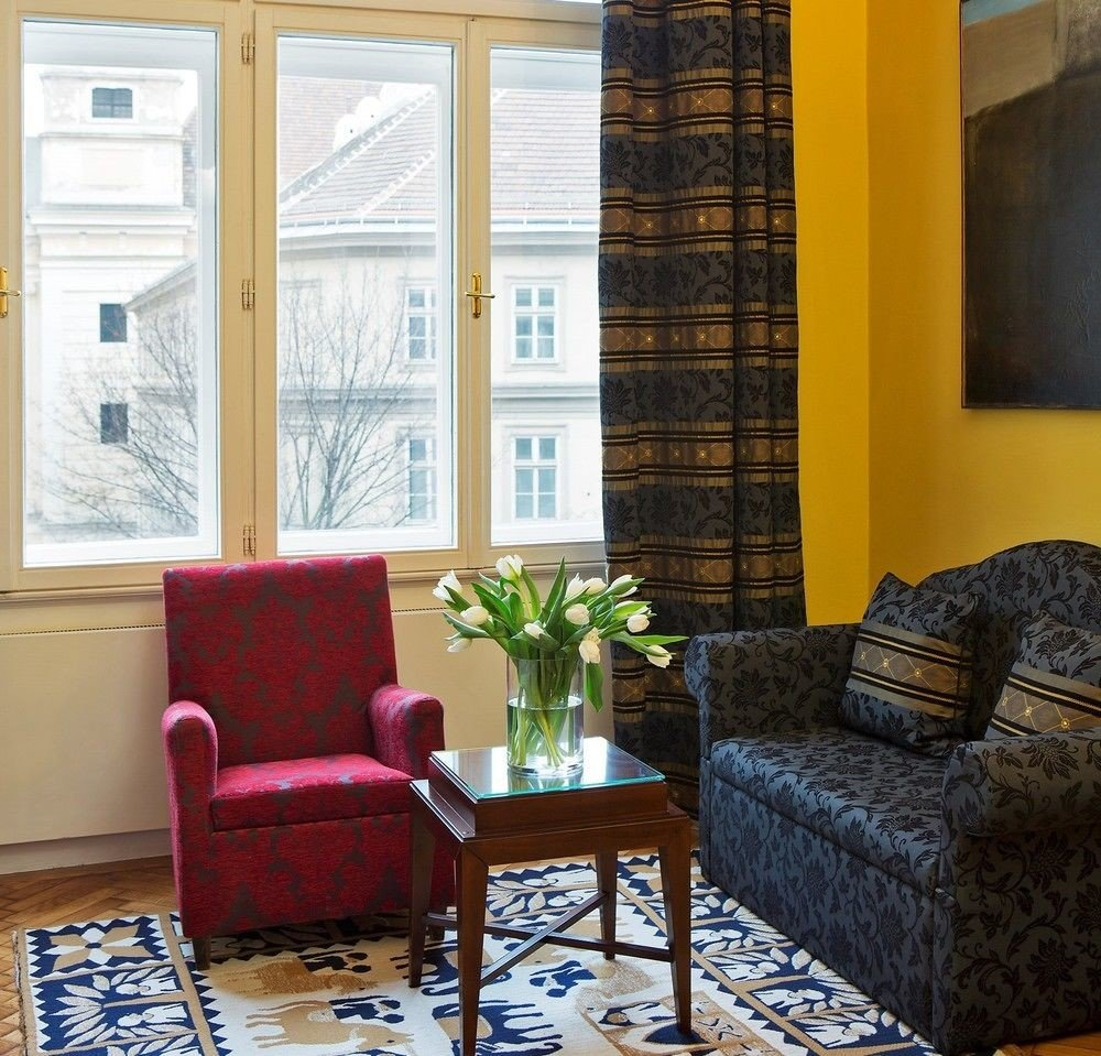 living room property home house condominium cottage window treatment