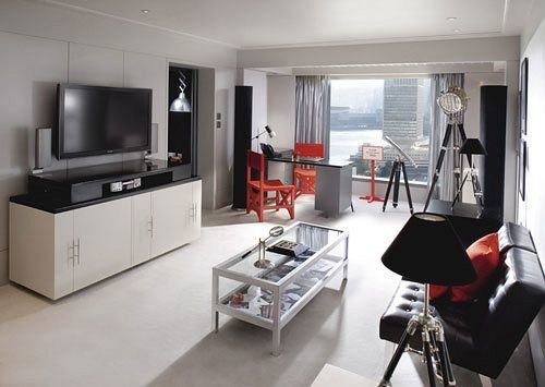 property living room home condominium cottage loft