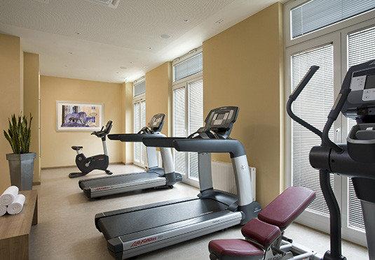 structure desk sport venue condominium muscle gym